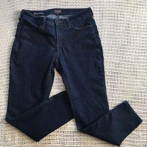 NYDJ Dylan Skinny Ankle 8 Dark Wash Jeans